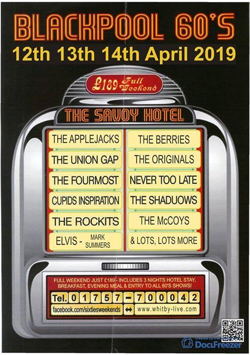 Blackpool 60s Weekend