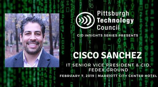 CIO Insights Cisco Sanchez It Senior VP & CIO FedEx Ground