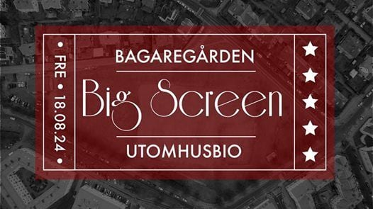 Bagaregrden Big Screen - Utomhusbio