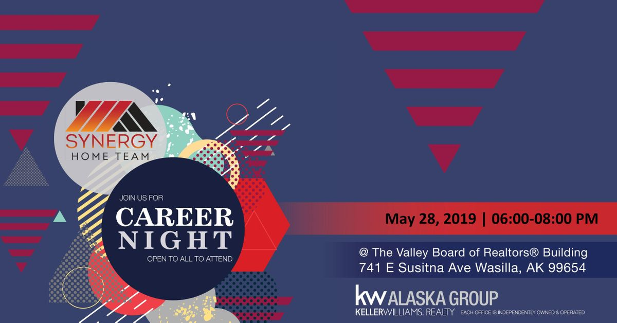 Synergy Blue Valley >> Synergy Home Team Career Night 2019 At Valley Board Of Realtor S