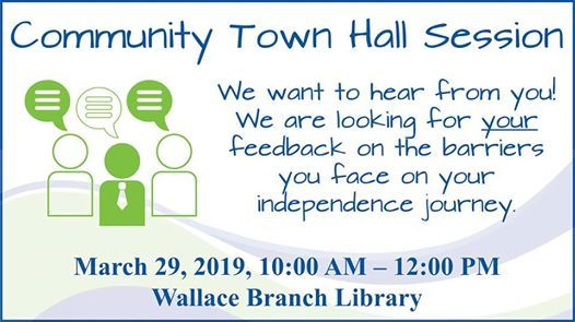 Community Town Hall Session