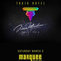 Tokio Hotel at Marquee Theatre