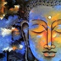 Canvas Painting - Tranquil Buddha