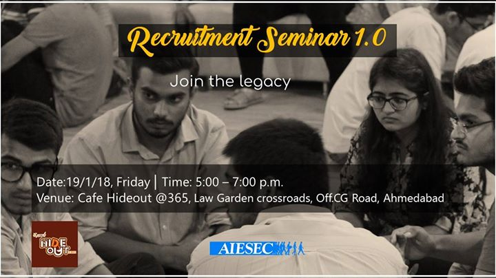 Recruitment Seminar 1.0