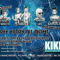 Klub Kids Takeover Manchester - KIKI - Saturday 25th February