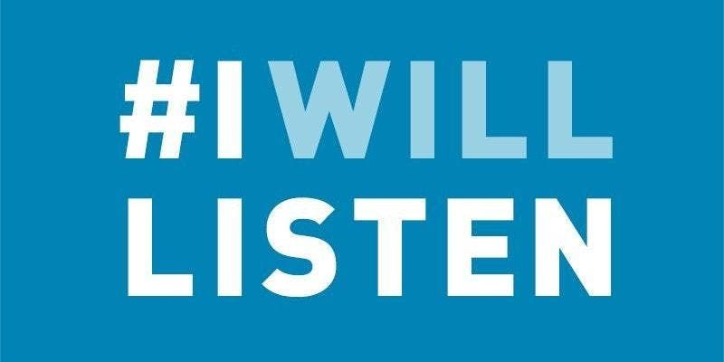 IWillListen - Mental Health Campaign for Baltimore City