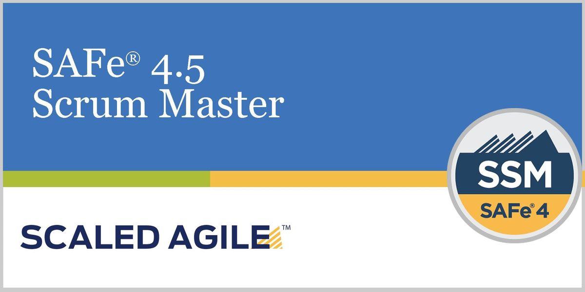 SAFe 4.5 (Scaled Agile Framework) Scrum Master with  SSM Certification - Singapore