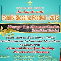 Family Blessing Festival 2018