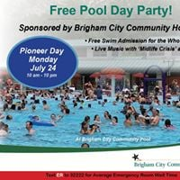 Free Pool Party and Concert