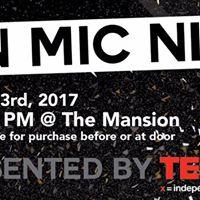 TEDxQueensU Open Mic Night