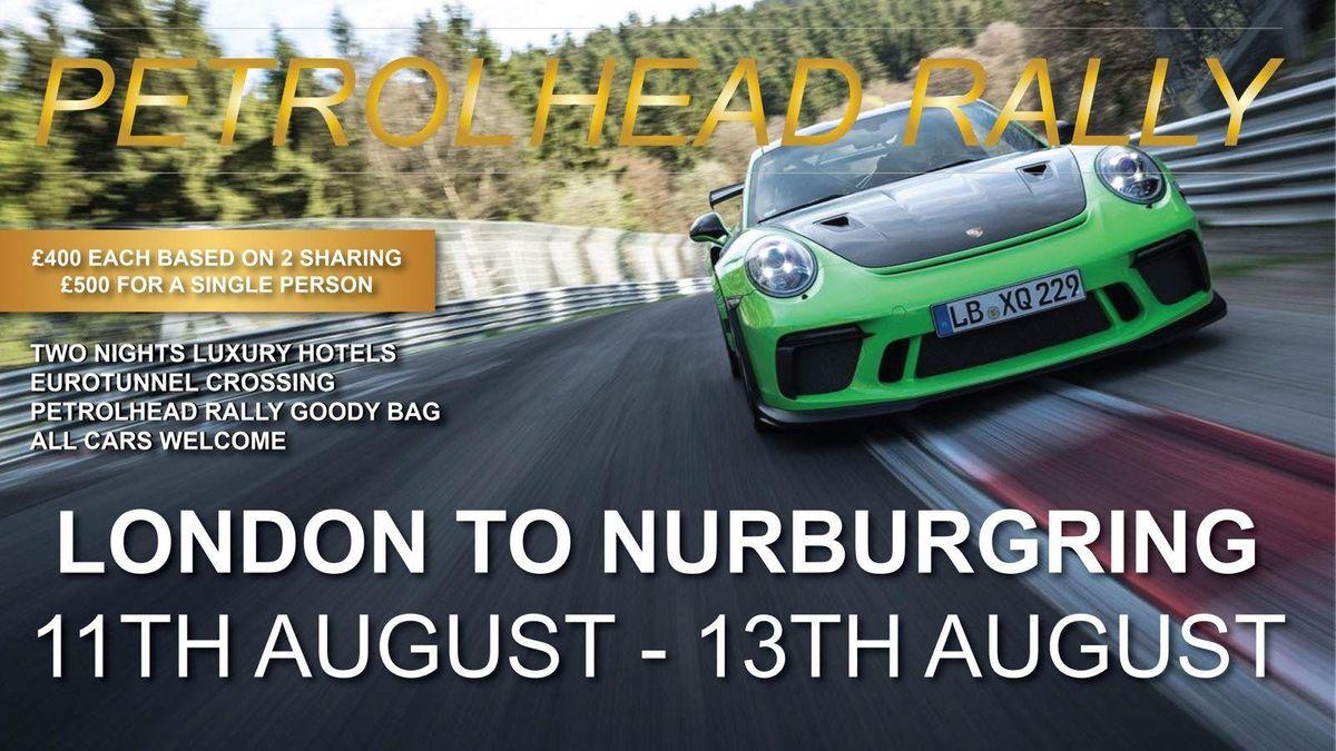 Petrolhead Rally  London To Nurburgring