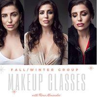 FallWinter Group Makeup Lessons