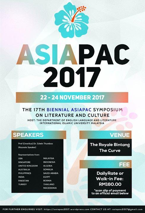 17th Biennial Symposium on Literature & Culture (AsiaPac2017)