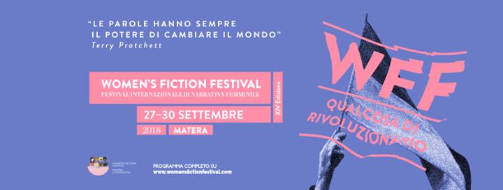 Womens Fiction Festival 2018 - Eventi pubblici