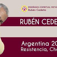 Ruben Cedeo en Resistencia Chaco