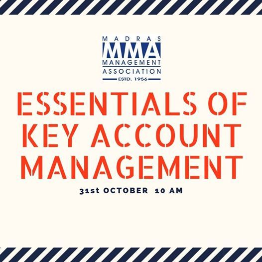 MMA - KAS Workshop on Essentials of Key Account Management