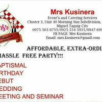 Baptismal And Kiddie  Party