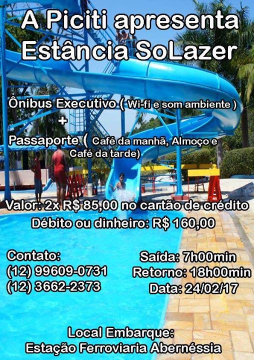 Excursão Estancia Solazer | Santa Isabel