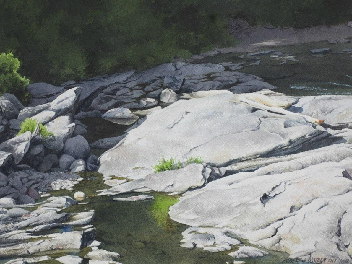 Painting the Many Moods and Facets of Water in the Watercolor Medium with Robert J OBrien