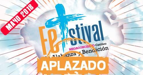 Megaconcierto Catlico de Alabanza y Bendicin (aplazado)