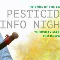Pesticides Information Night