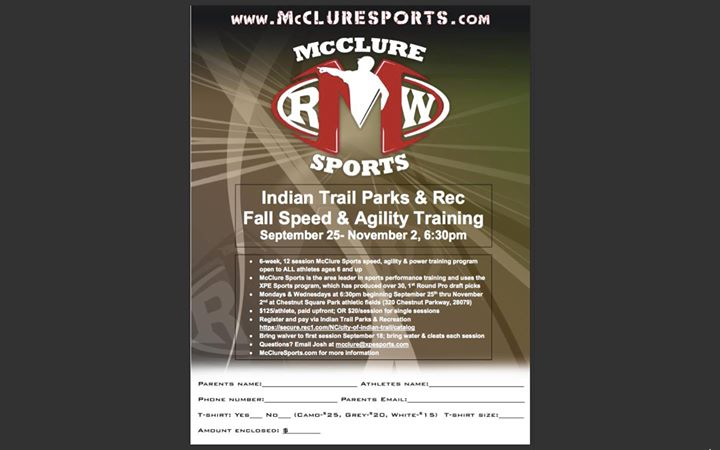 McClure Sports at Indian Trail Parks & Rec