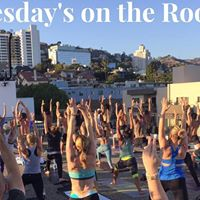 Rooftop Yoga at Palihouse - Every Wednesday Night
