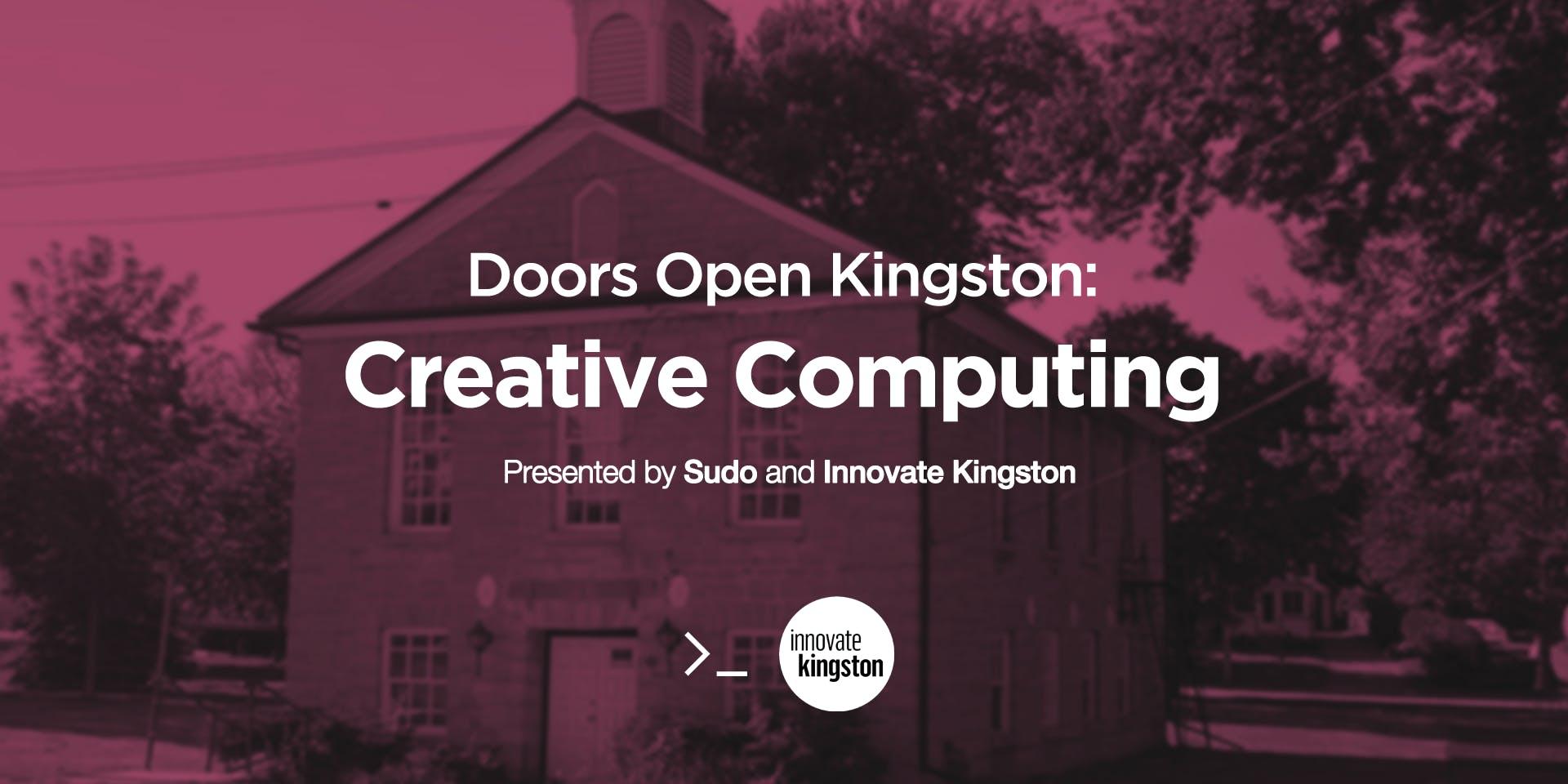 Doors Open Kingston Creative Computing & Doors Open Kingston: Creative Computing at Portsmouth Town Hall ...