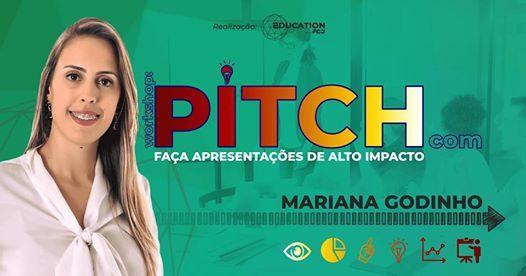 Pitch Faa Apresentaes de Alto Impacto  com Mariana Godinho
