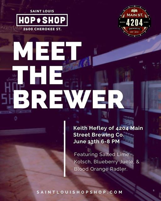 Meet The Brewer  Keith Hefley 4204 Main St.