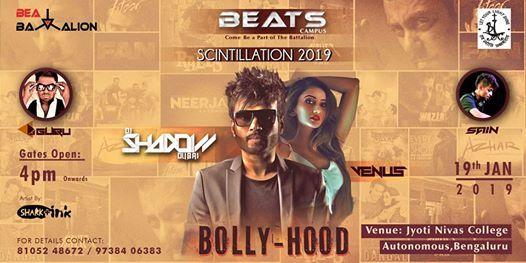 BEATS Campus presents Bolly-Hood ft. DJ Shadow Dubai