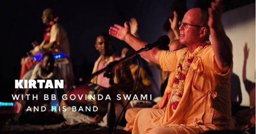 Special Kirtan w BB Govinda at Sarvam Yoga