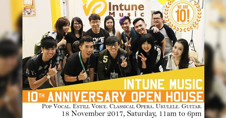Intune Music 10th Anniversary Open House