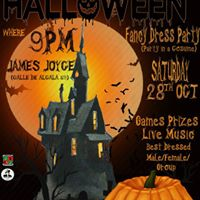 Madrid Harps Halloween Party