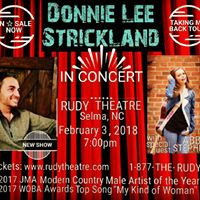 Donnie Lee Strickland LIVE at The Rudy Theatre
