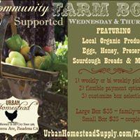 Farm Box Pick Up (Weekly or Bi-Weekly)