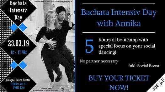 Bachata Intensiv Day with Annika