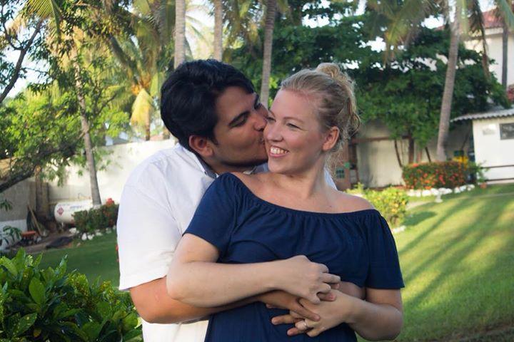 Daniel og Inger gifter seg