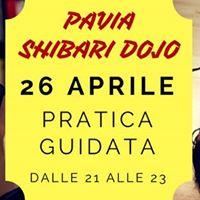 Pavia Shibari Dojo - pratica guidata - 26 Aprile ore 21