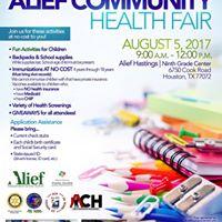 Alief Community Health Fair