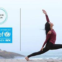 Gratis morgenyoga i samarbeid med Solvik Yoga og Unicef