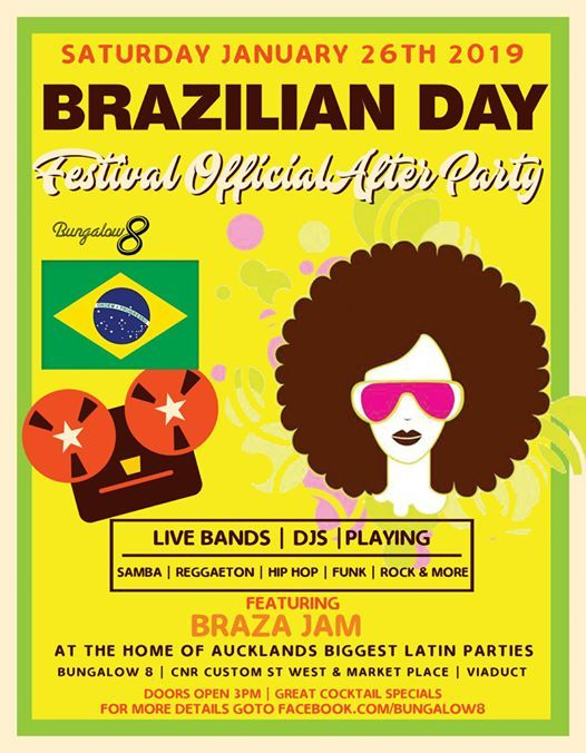 Brazilian Day Festival Official After Party 2019