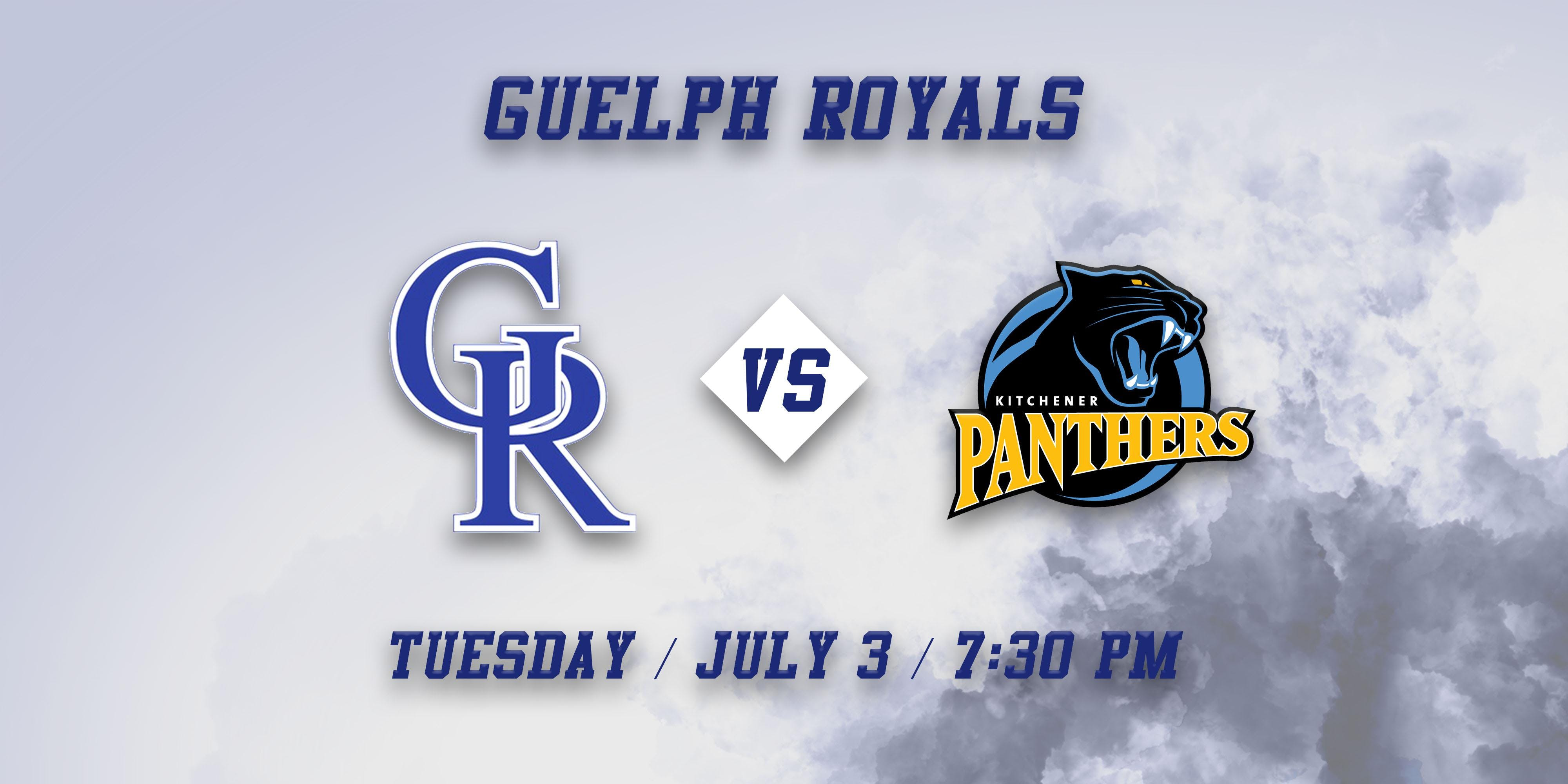 Kitchener Panthers vs Guelph Royals at David E. Hastings Stadium, Guelph