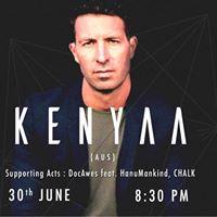 Kenyaa (aus)  blueFrog Bangalore w DocAwes ft. Hanumankind