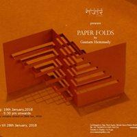 Paper Folds by Gautam Hemmady