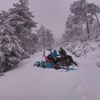 Raquetas de nieve Pico El Nevero NIVEL 1