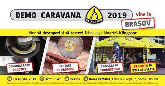 Demo Caravana Klingspor 2019 vine la Braov