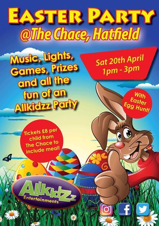 The Chace Easter Party for the kids