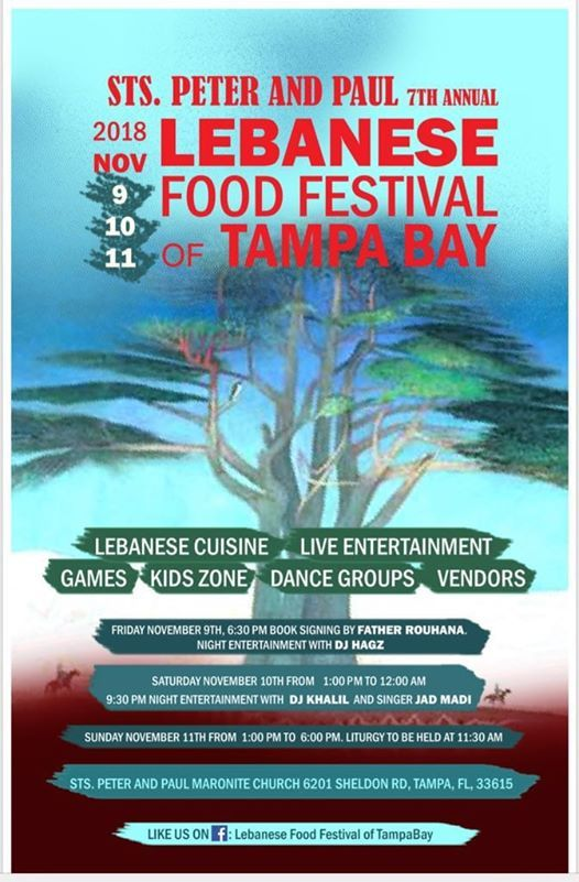 Lebanese Food Festival of TampaBay