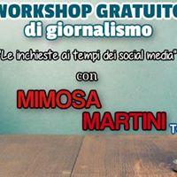 Workshop gratuito con Mimosa Martini